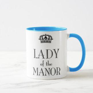 Lady of the Manor mug
