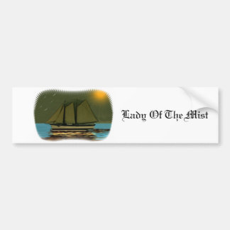 Lady Of The Mist Bumper Sticker