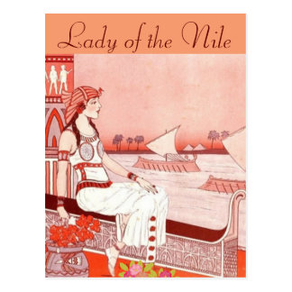 Lady of the Nile postcard