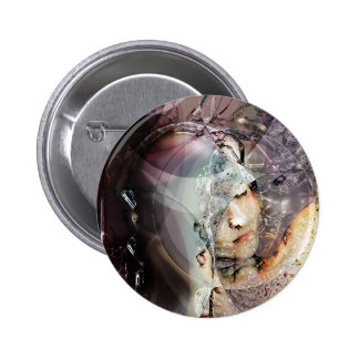 «Lady of Thought» Button