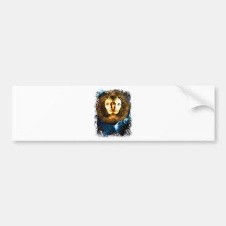 Lady Of Universe Star Fantasy Cosmos Bumper Sticker
