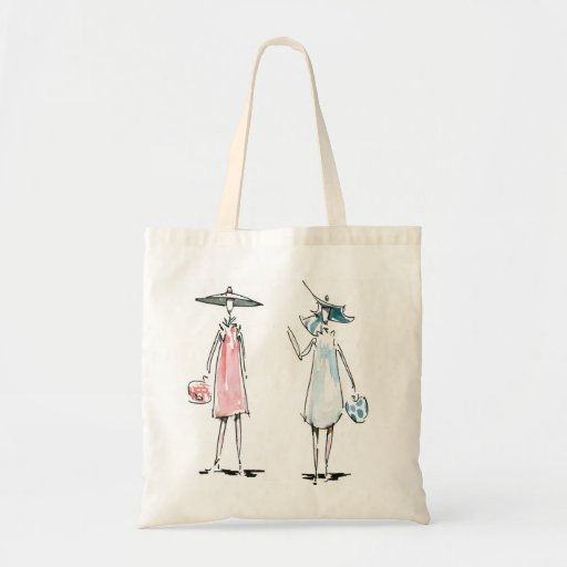 Lady off to Lunch Bag