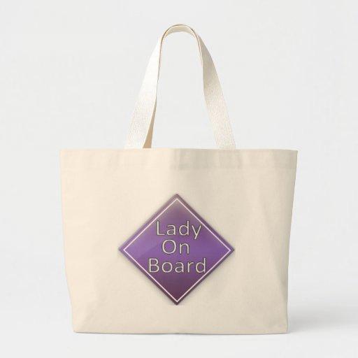 Lady on Board Bag
