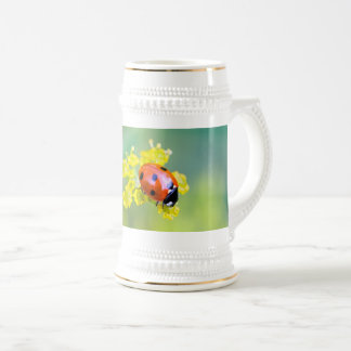 lady on top beer stein
