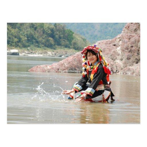 Lady Padaung Postcards
