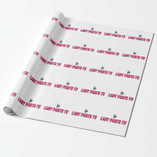 Lady Parts TV Wrapping Paper