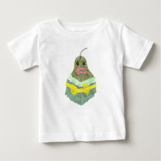 Lady Pear No Background Baby T-Shirt