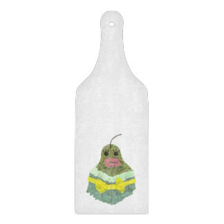 Lady Pear Paddle Chopping Board