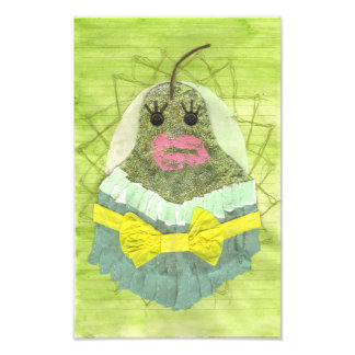 Lady Pear Poster Photographic Print