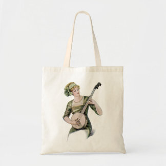 Lady Player Tote Bag