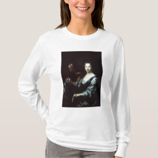 Lady playing a spinet and a flautist T-Shirt