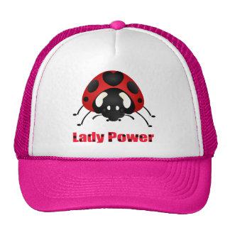 """""""Lady Power"""" Ladybug Cap"""