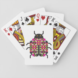 Lady Quilt Bug Playing Cards