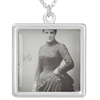 Lady Randolph Churchill Silver Plated Necklace