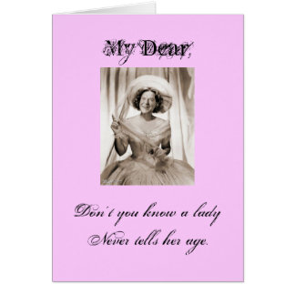 Lady Ronette - Customized Greeting Card