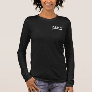lady shirt MX5 logo blank