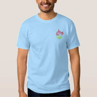 Lady Slipper Embroidered T-Shirt