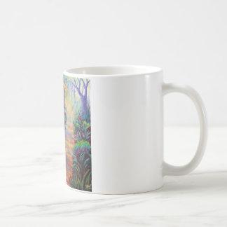 Lady Slippers on the Path Coffee Mug