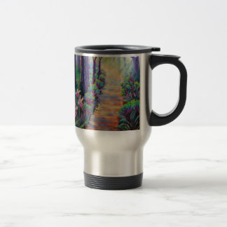 Lady Slippers on the Path Mugs