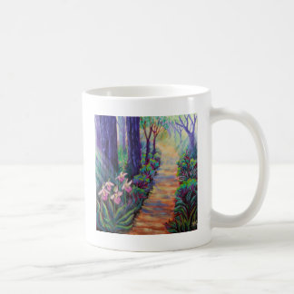 Lady Slippers on the Path Coffee Mugs