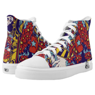 Lady Star Florist Printed Shoes