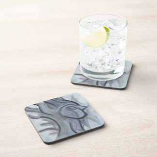 Lady Stardust coasters with cork back(set of 6)