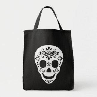 Lady Sugar Skull by Leslie Peppers Tote Bag