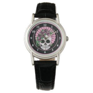 Lady Sugar Skull Watch