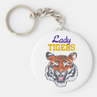 LADY TIGERS KEY CHAIN