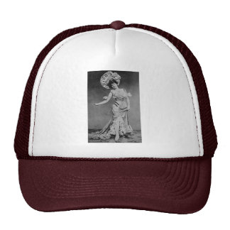 Lady Time Mesh Hat