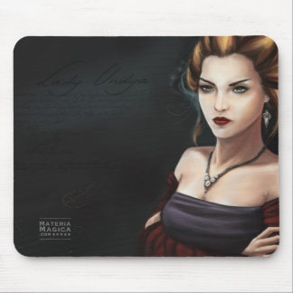 Lady Undya Quest Master Materia Magica Online Game Mouse Pad