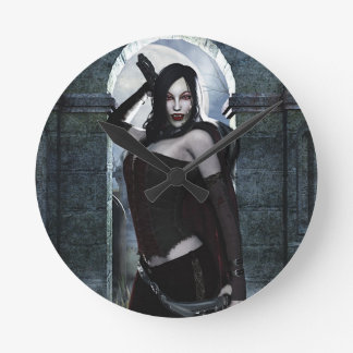 Lady Vamp Clock