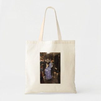 Lady Victorian Traveler Tote Bag