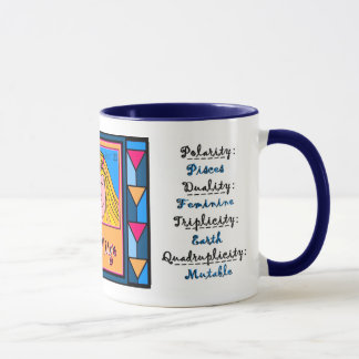 Lady Virgo Profile Mug