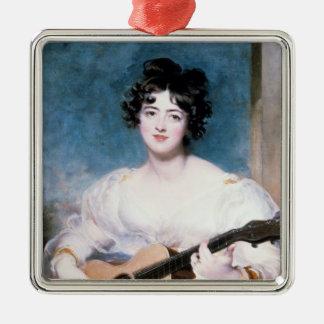 Lady Wallscourt, 1825 Christmas Ornament