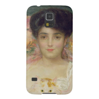 Lady with a Cat, 1904 Cases For Galaxy S5