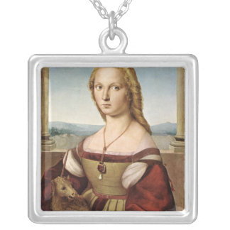 Lady with a Unicorn by Raphael Necklace