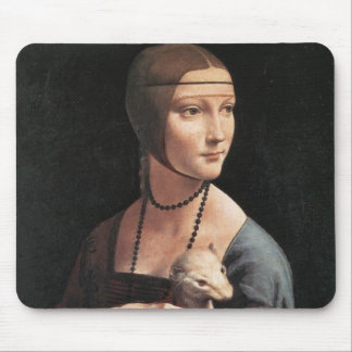 Lady with an Ermine Mouse Pad