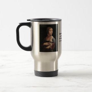 Lady with an Ermine Travel Mug