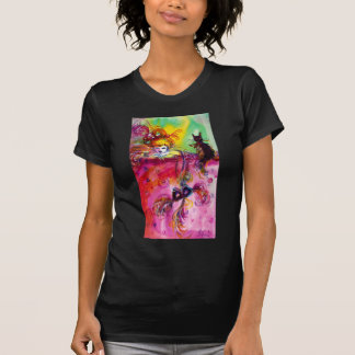 LADY WITH BLACK CAT / Venetian Masquerade Tee Shirts