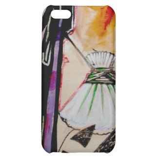 Lady with shell necklace iPhone 5C covers