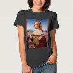 Lady with the Unicorn Raphael Santi portrait paint Shirts