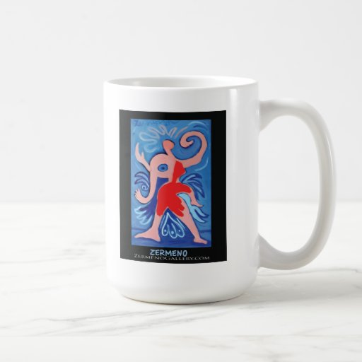 """""""Lady Zermeno"""" by Zermeno coffee mug"""