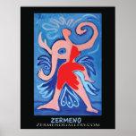 """""""Lady Zermeno"""" poster by Zermeno"""