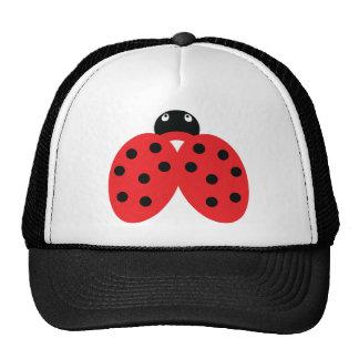 ladybeetle icon mesh hats