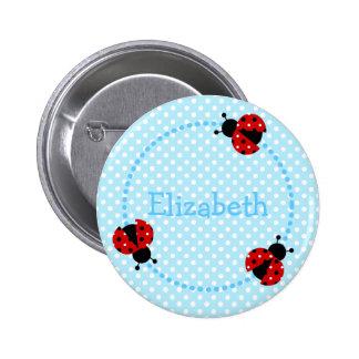 Ladybird badge/button