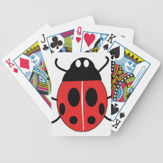 Ladybird Bicycle Playing Cards