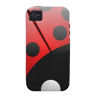 Ladybird Vibe iPhone 4 Cases