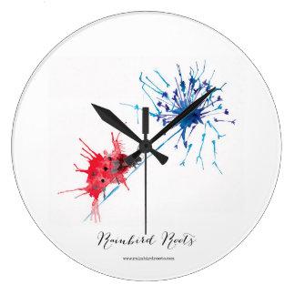 Ladybird Dandelion Clock