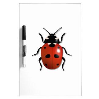Ladybird Dry Erase Whiteboard